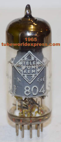 EF804S Telefunken Germany <> bottom used/good 1965 (2.2ma) (V72 mic)