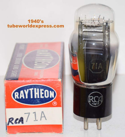 71A RCA NOS 1940's in Raytheon box (24ma)