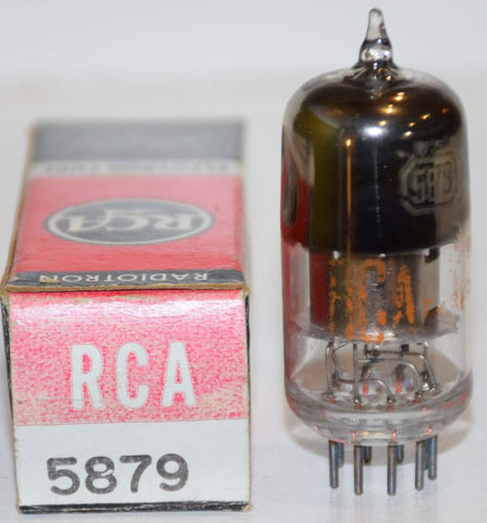 5879 RCA low hours/tests like new 1960's (1.8ma)