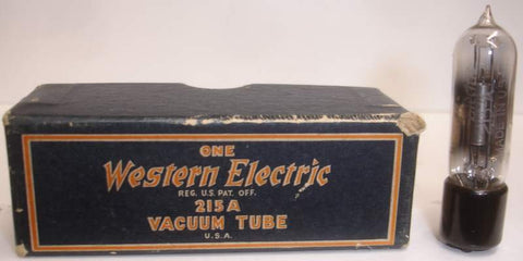 215A Western Electric NOS original box (1 tube)