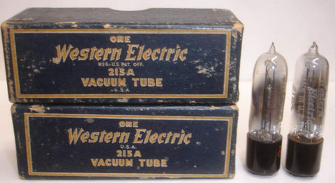 215A Western Electric NOS original boxes (1 pair)