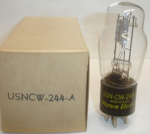 (!) 244A Western Electric NOS 1952 smaller side getter (4.4ma)