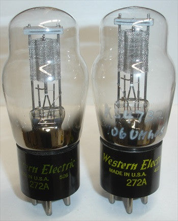 272A Western Electric NOS 1954-1955 (1 Pair)