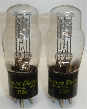 (BEST PAIR) 272A Western Electric NOS 1956 (1 Pair)
