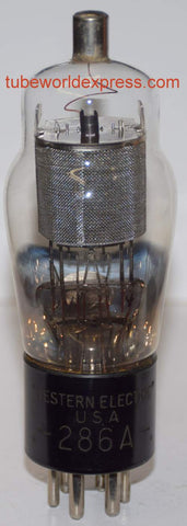 (!!!) 286A Western Electric Engraved Base NOS 1930's (6.6ma)