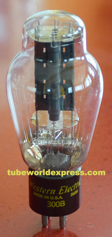 (!!!!!) 300B Western Electric NOS (5639=1956) wide