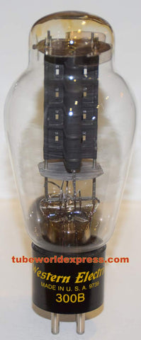 (!!!!) 300B Western Electric used/tests like new 1997 re-boxed (62.4ma) (100%) (can match as pair with single from 2006)