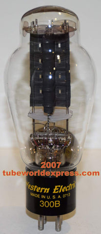 (!!!!) 300B Western Electric used/tests like new 2007 re-boxed (76ma) (Serial #230787) (100%)