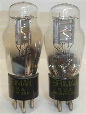 (!!!) (Best Pair) 30 Brimar BVA made in USA but might be made in UK in white boxes 1940's (3.1ma and 3.3ma)