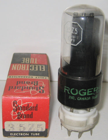 35Z5GT Rogers Canada NOS 1957