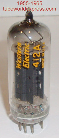(!) (sold out) 412A Western Electric NOS