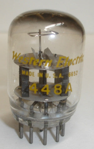 (1 set of 10 tubes) 448A Western Electric