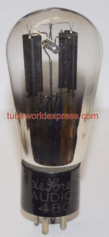 (DISPLAY TUBE) 480 Deforest Audio Balloon shape glass 1930's (for display purposes only - does not work)