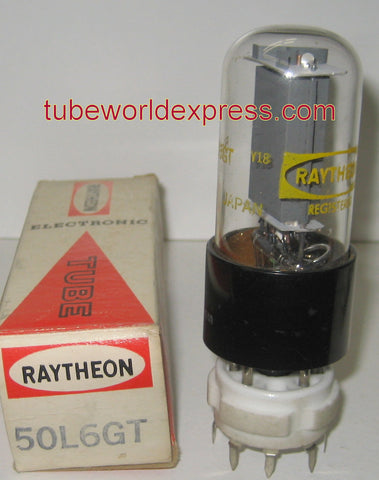 50L6GT Raytheon Japan NOS (1 in stock)