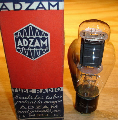 50 ST-19 RCA branded ADZAM NOS/80% 1940's (48ma) tested on Amplitrex