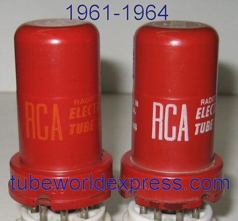 5693 RCA 1961 used/good and 1964 NOS (2.5ma and 2.5ma)