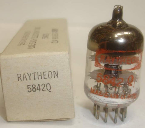 5842Q Raytheon NOS 1983 (30ma and Gm=25,000)