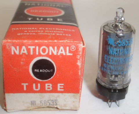 NL-5853S Burroughs England branded NATIONAL NOS 1977
