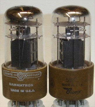 5992=6V6GT Bendix NOS 1950's (1 Pair: 35ma and 33ma)