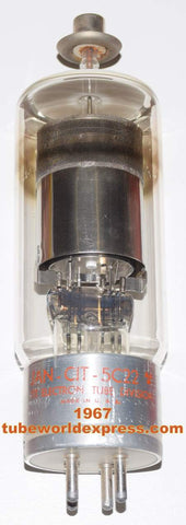 (!) 5C22 ITT Electron Tube Division used/good condition 1967 some scratches on the base