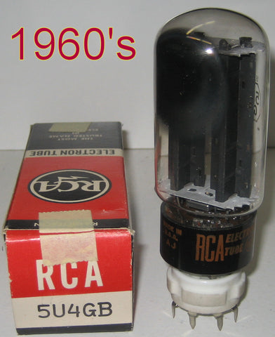5U4GB RCA used/good 1960's