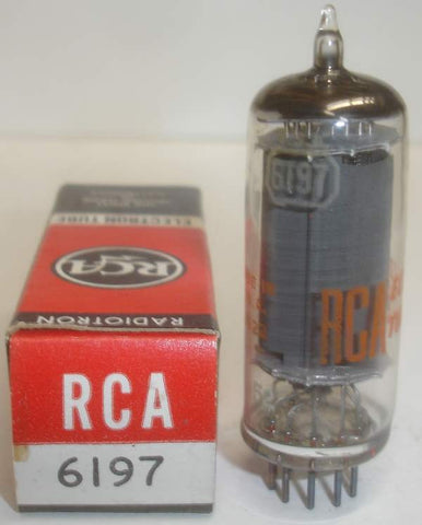 6197=6CL6 RCA NOS 1960's (6 in stock)