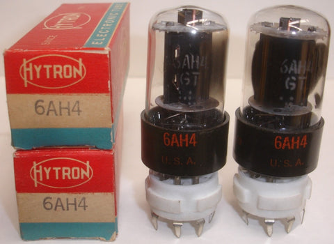 6AH4GT Hytron short bottle