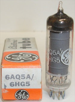 6AQ5A=6669 GE NOS 1960's - 1970's (8 in stock)