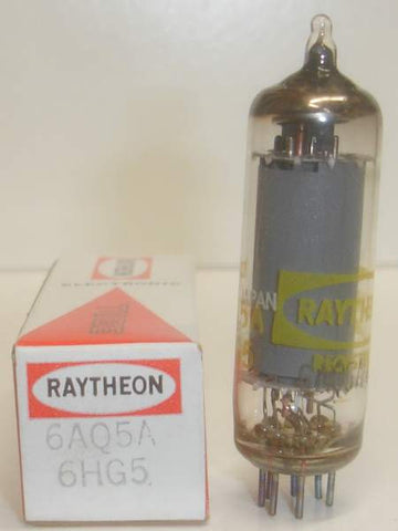 6AQ5A Raytheon Japan NOS 1970's (27 in stock)