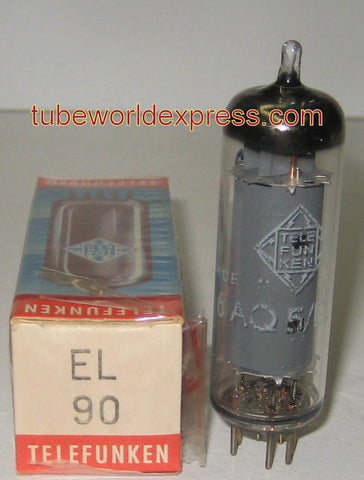 (!) 6AQ5 Telefunken Germany <> bottom NOS 1965 (47.6ma)