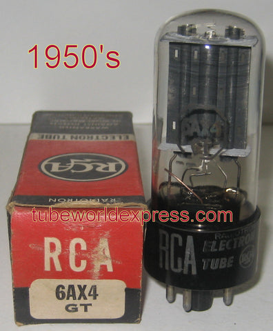 6AX4GT RCA NOS 1950's (1 in stock)