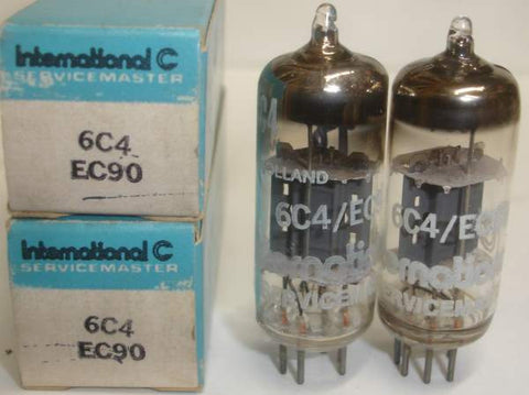 (!) (- BEST PAIR) 6C4 International Servicemaster Holland NOS 1974 (9.6/10ma) 1-2% matched