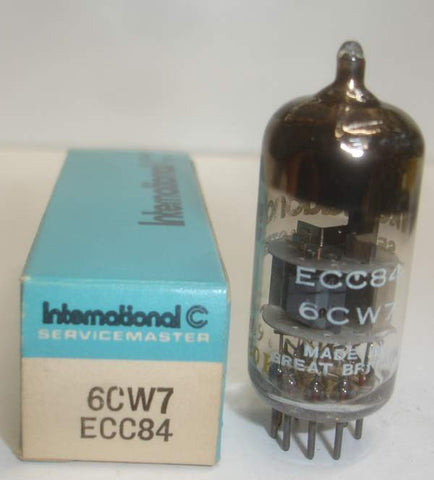 ECC84=6CW7 Mullard International NOS 1960 (8.8/12.2ma)