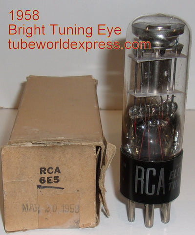 (!!) 6E5 RCA NOS 1958 (1 in stock) (bright eye)