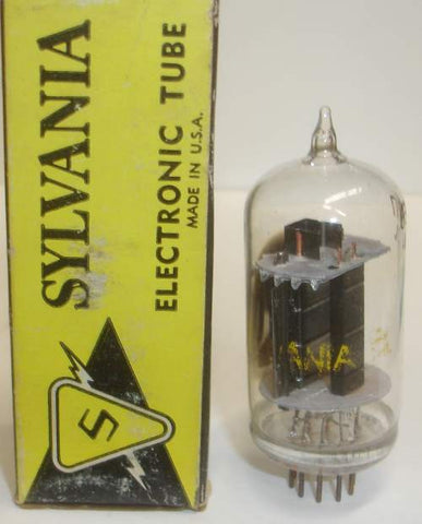 (!!) 6EW7 Sylvania BIG BOTTLE NOS 1960's (3.3/44ma)