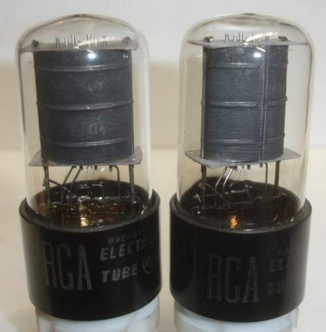 6K6GT RCA used/good 1952 (1 pair: 41 and 44.5ma)
