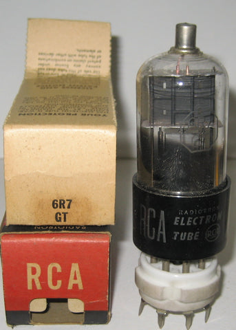 6R7GT RCA NOS 1940's (2 in stock)