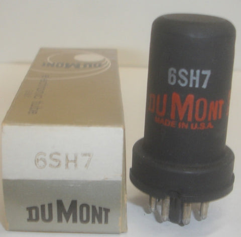 6SH7 Dumont metal can NOS (3 in stock)