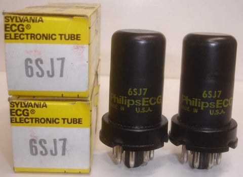 6SJ7 metal can NOS (5 pairs in stock)