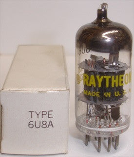 6U8A Raytheon USA NOS 1962 (single)