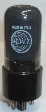 6V6GT MWT Italy coated glass NOS 1940's (42ma)