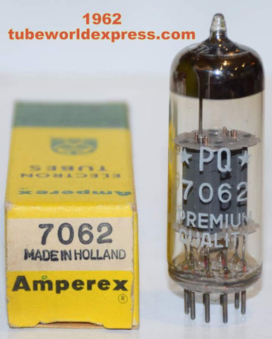 (slightly microphonic) 7062 Amperex Holland