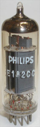 (slightly microphonic single tube) E182CC=7119 Philips SQ Holland NOS