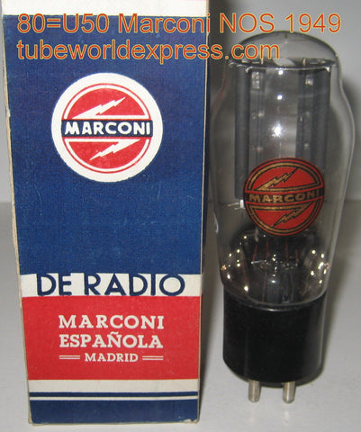 (!!) (#1 80 single) 80=U50 Madrid Spain tall bottle NOS 1949 (60/40 and 63/40)