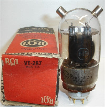 815 RCA NOS 1940's (1 in stock)