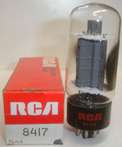 8417 GE rebranded RCA NOS around 1970 (95ma)