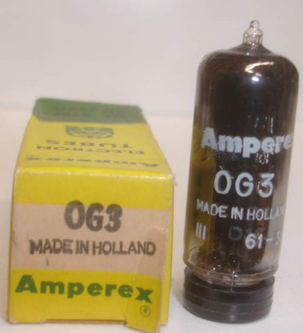 85A2=0G3 Amperex Holland NOS 1961-1963 (5 in stock)