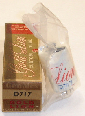 D717=6AL5 Genalex Gold Lion England NOS (sold out)