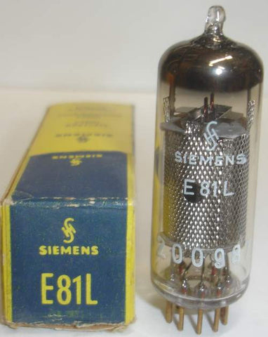 (BEST SINGLE) E81L=6686 Siemens made By Valvo, Hamburg, Germany NOS 1963