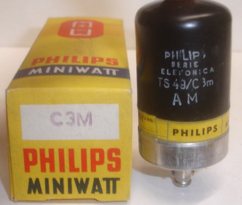 C3M Valvo branded Philips NOS early 1960's (20ma)